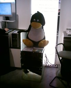 Debian-Cluster with Tux